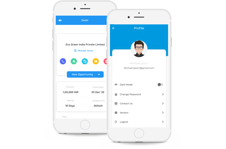 RabbitCRM Contact Management Features